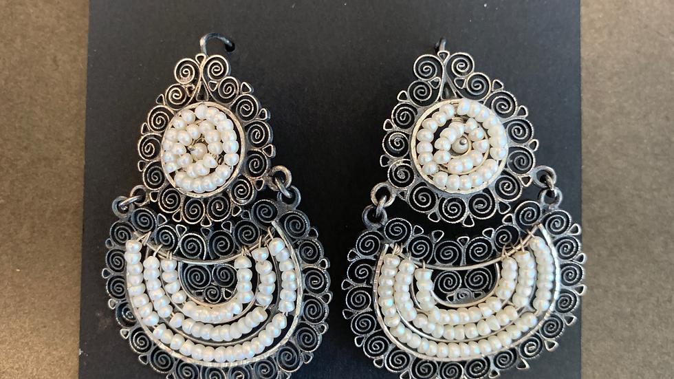 Federico Pearl Earrings