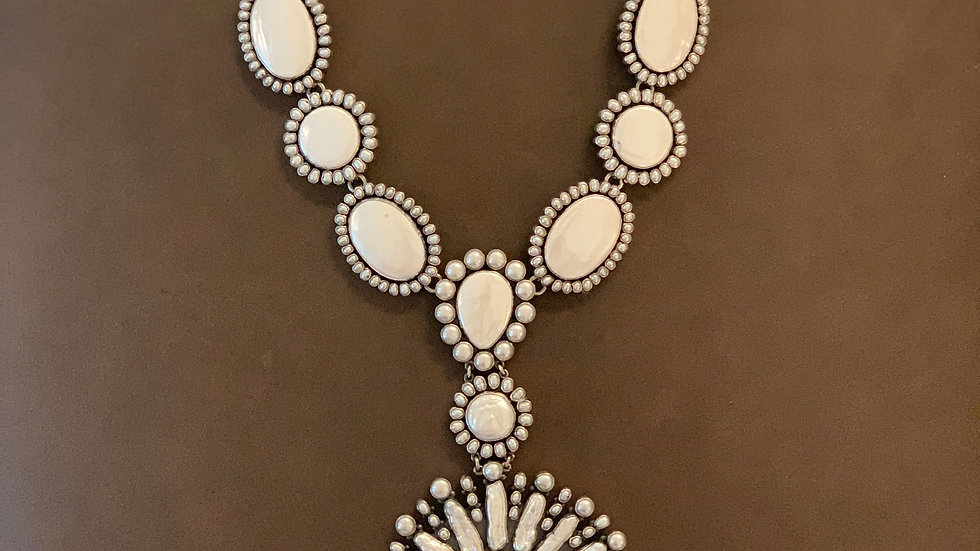 Federico Pearl Cluster Necklace