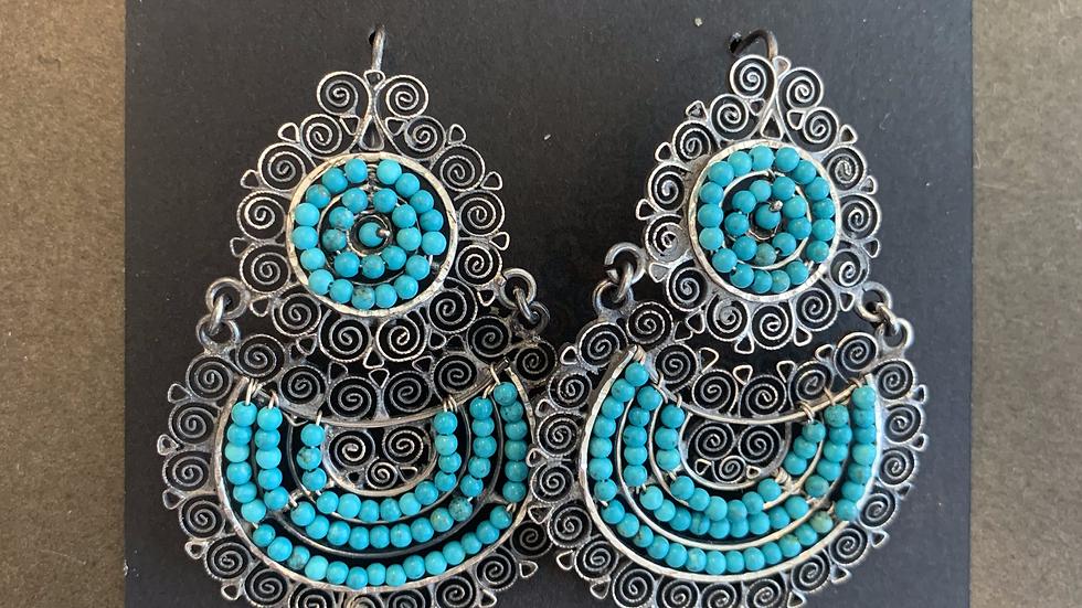 Federico Turquoise Earrings