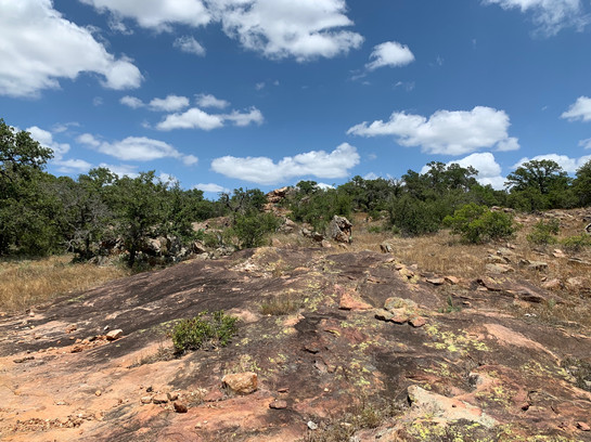 Granite outcropping