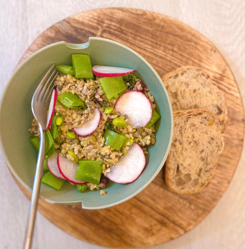 Ancient Grain Freekah Salad