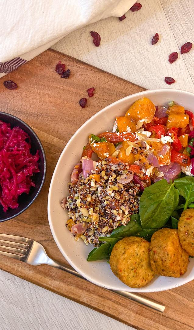 Morrocan Pumpkin & Almond Naked Salad