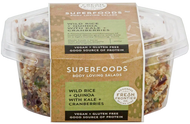 Wild Rice + Quinoa with Kale + Cranberries