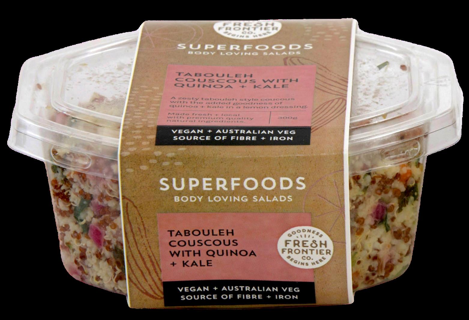 Tabouleh Couscous with Quinoa + Kale