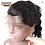 Thumbnail: Peruca front lace de cabelo humano, 180% Densidade, Onda Solta