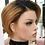 Thumbnail: Peruca curta de cabelo natural liso BOWIN