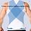Thumbnail: Cinta modeladora masculina com 3 linhas de ganchos JUST-ONE shapers