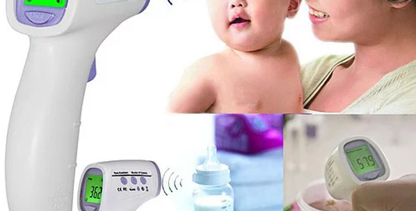 Termômetro digital para medição da temperatura corporal