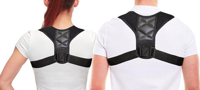 Corrector de postura para parte superior das costas UNISEXO e ajustável