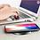 Thumbnail: Carregador rápido sem fios p/ IPhone X, 8, 8 Plus, XR, XS, Samsung S8 S9 e Note9