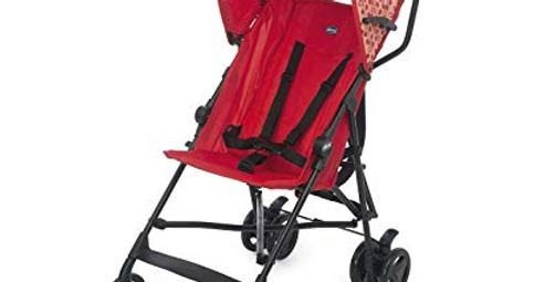 Carrinho de Bebê Chicco Snappy LadyBug Vermelho