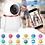 Thumbnail: Mini câmera inteligente HD 1080 P c/Áudio bidirecional 2MP CCTV Sem Fios