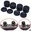 Thumbnail: 8 Capas pretas de Silicone para botão analogico de ps4 / ps3 / xboxone / xbox360