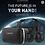 Thumbnail: Óculos de realidade virtual 3D VR BOX SHINECOM com fones de ouvidos