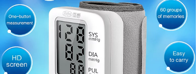 Medidor de tensão arterial digital