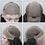 Thumbnail: Peruca front lace de franja lateral de cabelo virgem brasileiro BOWIN 14 Pol.