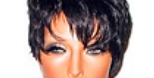 Peruca front lace curta de cabelo brasileiro virgem NLW