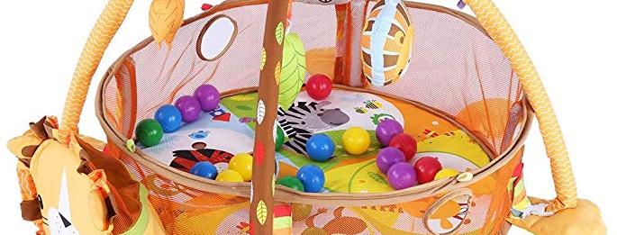 Transformador de actividade para crianças e Pit Ball 3 em 1