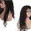 Thumbnail: Peruca front lace de cabelo cacheado virgem brasileiro