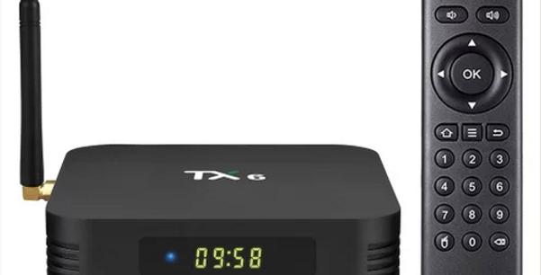 Smart TV BOX TANIX TX6 Allwinner H6 Android 9.0 4GB/32GB 6K