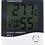 Thumbnail: Relógio despertador, termómetro e higrómetro