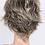 Thumbnail: Peruca curta de cabelo loiro WS709