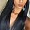 Thumbnail: Peruca de cabelo Humano liso com pelo de bebé NLW 10A