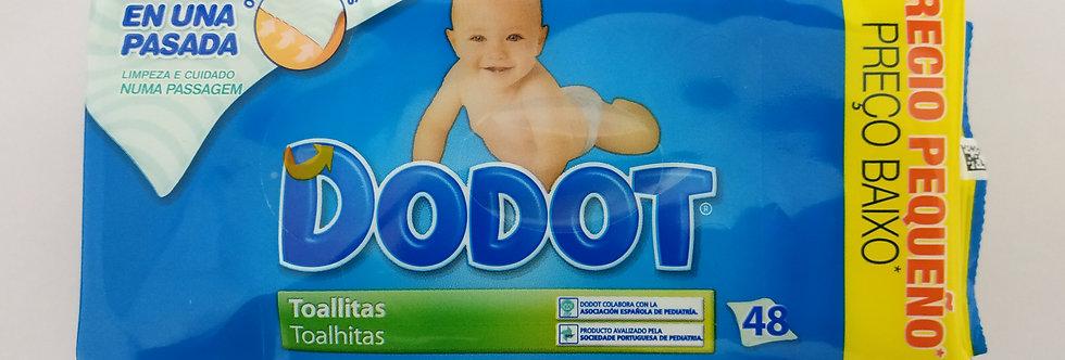 Toalhitas Dodot Dermo Active