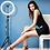 Thumbnail: Anel de Luz LED com Tripé 2.10m e Suporte para Telemóvel JEMSTONE