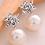 Thumbnail: Brincos de cristal com pérola