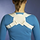 Thumbnail: Corrector de postura para parte superior das costas UNISEXO e ajustável