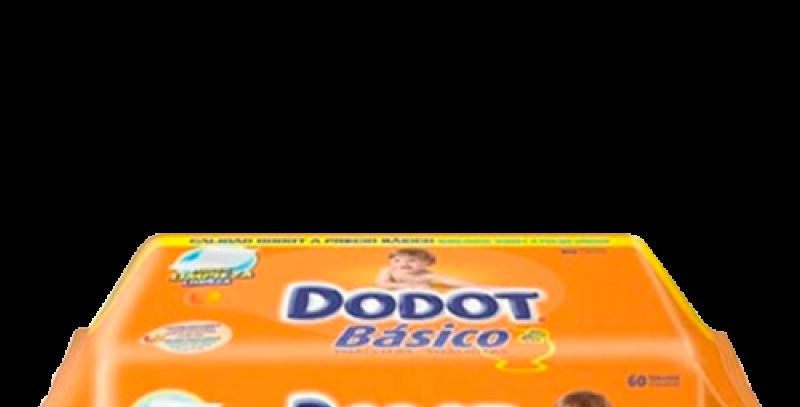 Toalhitas Dodot Básico cx 18un