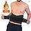 Thumbnail: Cinto modelador térmico unisexo de neoprene para emagrecimento e suporte lombar