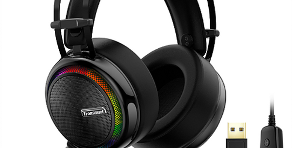 Auriculares Estéreo Tronsmart Glary Gaming 7.1 p/ Nintendo/ PS4/Macbook/PC