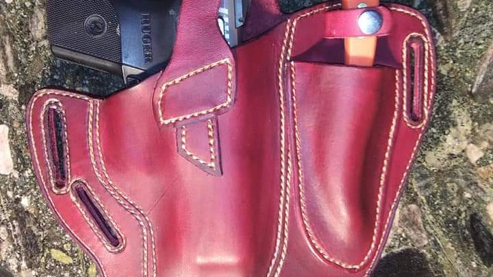 Combination owb holster