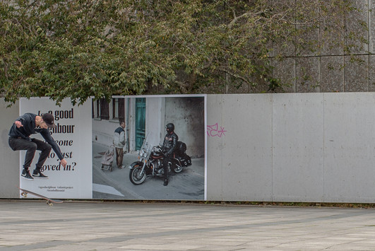 The Atlantic Project: a good neighbour by Elmgreen and Dragset and Lucas Wassman