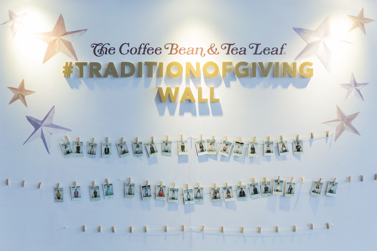 The Coffee Bean & Tea Leaf® Celebrates its Tradition of Giving with the 10th year of its Giving