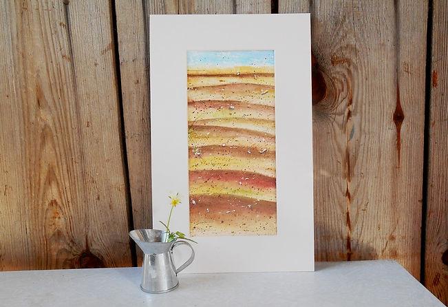 Песчаные волны. 25,5 х 12 см. 3 000 руб_