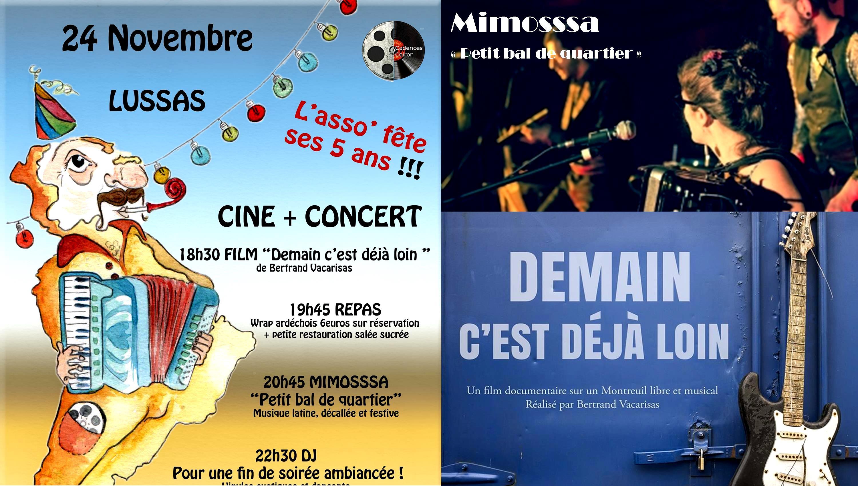 Ciné + Concert des 5 ans !