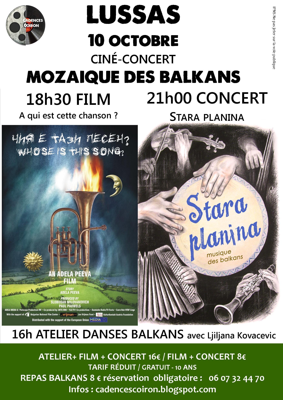 15 octobre 2015 Ciné + concert
