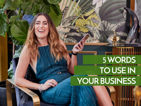 Words to Use in Your Business