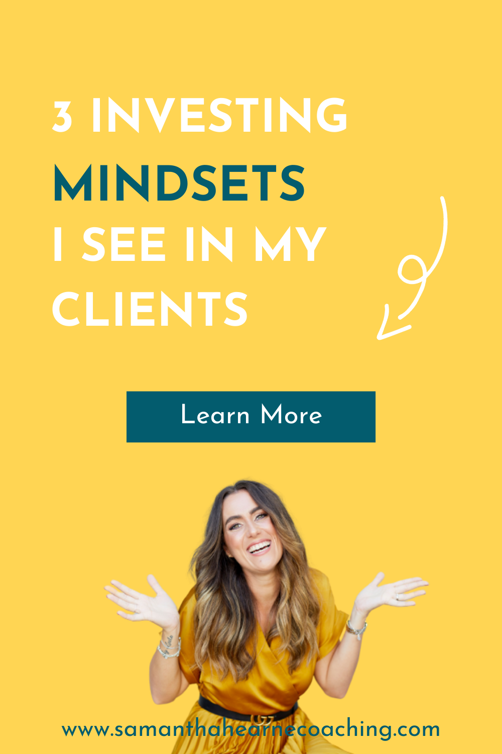 picture of Sam with text: 3 investing mindsets i see in my clients
