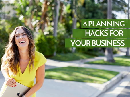 6 Planning Hacks for Your Business