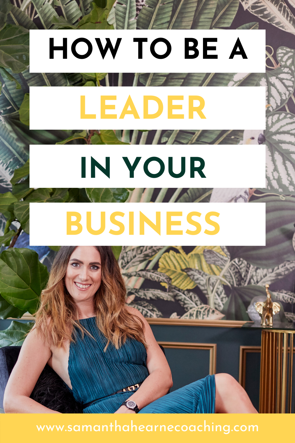how to be a leader in your business