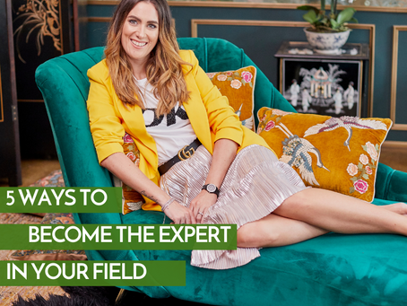 5 Ways To Become The Expert In Your Field