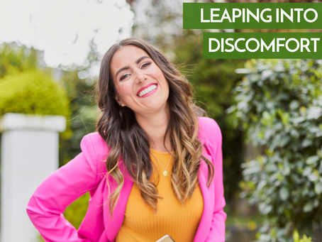 Leaping Into Discomfort
