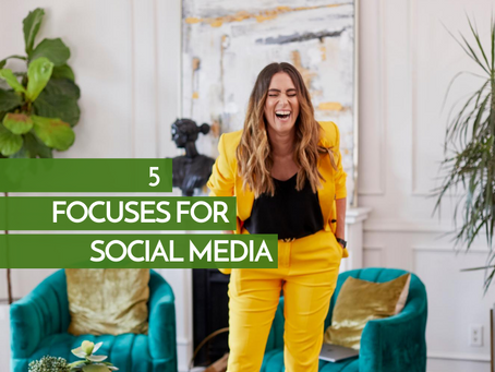 Social Media - 5 Things to Focus On
