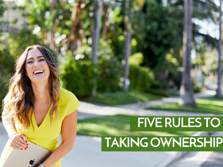 Five Rules Of Taking Ownership