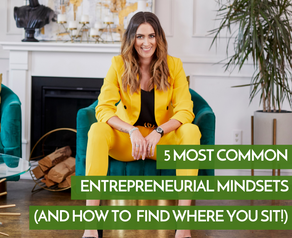 5 Most Common Entrepreneurial Mindsets (And How To Find Where You Sit)