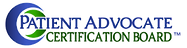 Patient Advocate Certification Board Logo